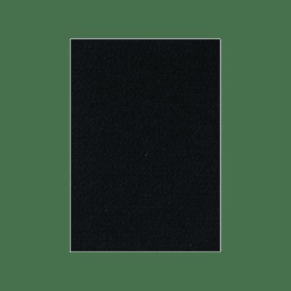 Podkładki meblowe filcowe czarne Premium 140mm x 100mm