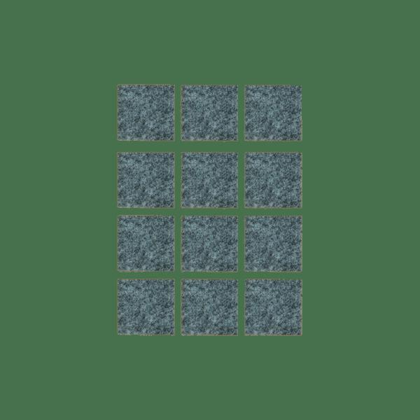 Podkładki meblowe filcowe szare Premium 30mm x 30mm