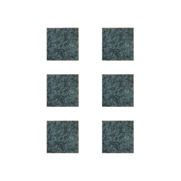 Podkładki meblowe filcowe szare Premium 40mm x 40mm
