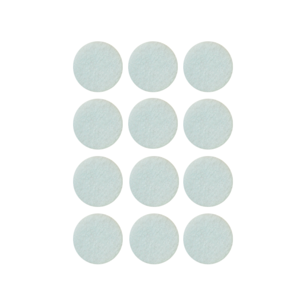 Podkładki meblowe filcowe białe Premium fi 30 mm