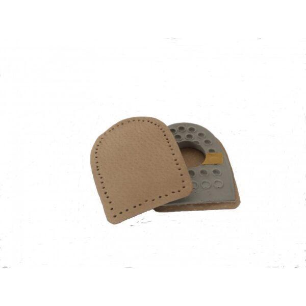 Podpiętki do butów na ostrogi lateksowo-skórzane
