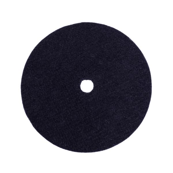 Podkładki podgumowane czarne pod garnki fi 23,3 cm