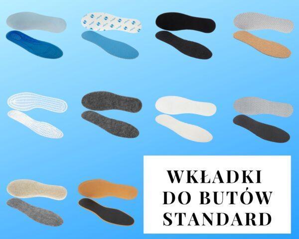 Wkładki do butów Standard